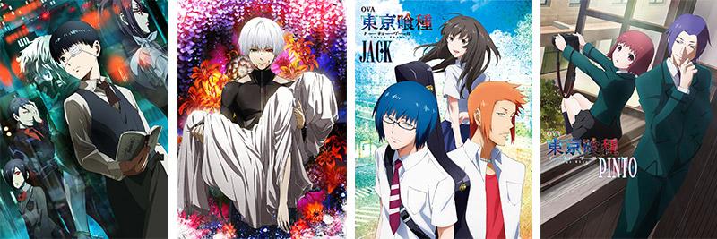 8月28日に発売の『東京喰種トーキョーグール√A』Blu,ray&DVD第6巻のジャケットイラストを公開致しました!